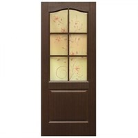 Полотно ОМИС дверное Классика фотопечать (пленка ПВХ) 800*2000*34 венге
