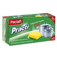 Губки для посуды PACLAN PRACTI MAXI 3шт 409120