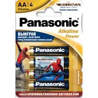 Батарейка PANASONIC щелочная Alkaline Power Promo pack AA/4B