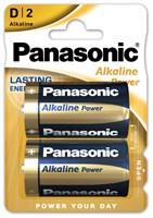 Батарейка PANASONIC Alkaline Power LR20APB/2BP тип D