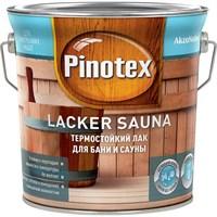 Лак PINOTEX Lacker Sauna 20 (полуматовый) 1л 5254107