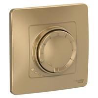 Светорегулятор (диммер) WESSEN BLANCA BLNSS040014 С/У поворотно-нажимной универсальный 400ВТ, титан