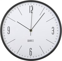 Часы настенные, пластик, круглые Д31 в асс.диз см (10) 161247