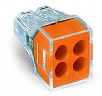 Соединители 773-104 для распред. коробок WAGO