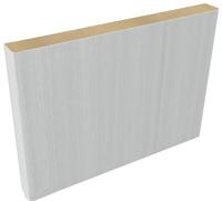 Планка доборная МДФ DP15w (2054*150*8) цвет серый