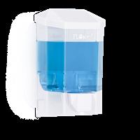Диспенсер FLOSOFT для жидкого мыла 500мл. прозрачный 10*8*16,5см D-SD41