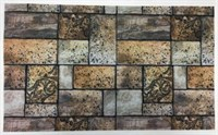 Коврик придверный RICCO Stone кирпич 45*75см 625-010