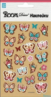 Элемент декоративный ROOM DECOR Бабочки-мини LCTRA 28004 (2 листа)