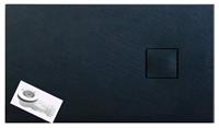 Душевой поддон из сланцевого камня GT-14080ES/S 140*80 черный