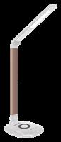 Светильник NATIONAL настольный NL-36LED, 3 ур.яркости, 7 Вт, WG белое золото