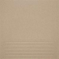 Керамогранит КОНТАКТ-СЕРВИС Соль-Перец 30*30*7 светло-серый Матовая Ступень С KDT01A02V