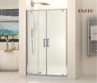 Перегородка душевая стеклянная EBATH SGP 1805A 1100*1900
