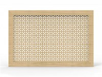 Экран для радиатора Модерн рамка Дамаско дуб сонома 600*1200мм