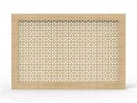 Экран для радиатора Модерн рамка Дамаско дуб сонома 600*900мм