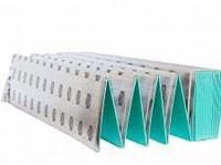 Подложка-гармошка СОЛИД AntiSlip под замковый LVT зелёная 1000*250*1,5мм (1уп-10кв.м)