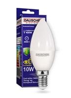 Лампа DAUSCHER LED 10W C35 E14 6500K DLC35-1064-14