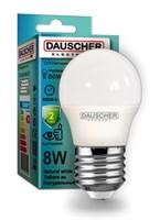 Лампа DAUSCHER LED 8W G45 E27 4200K DLG45-842-27