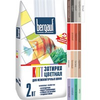 Затирка BERGAUF KITT 2 кг для межплит.швов 1-5 мм багама