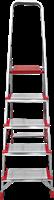 Стремянка алюминиевая NV500 5 ступеней 5110105