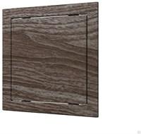 Люк-дверца ЭРА ревизионная 218*218 с фланцем 196*196 ABS, декоративный Л2020 oak