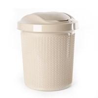 Контейнер Ajur для мусора 12л Айвори арт.SV4065АЙВ
