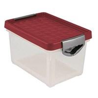 Ящик для хранения SYSTEMA бордовый 5,1л. BQ1001БРД