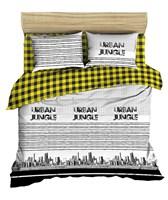Комплект постельного белья ВАСИЛИСА '17 евро 220 поплин наб.70х70,100% хлопок 388 Гор.джунгли