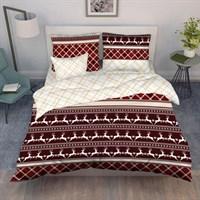 Комплект постельного белья ВАСИЛИСА '20 евро 200*216 бязь наб 70*70 9394/1 Шотландия