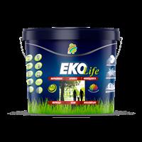 Краска РАДУГА ЕКО Life акриловая для стен и потолков гипоаллергенная 20л-24 кг