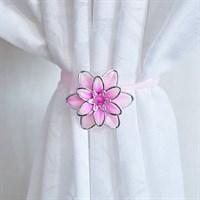 Подхват-магнит Лотос 6570 розовый 2 шт