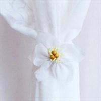 Подхват-магнит Нарцисс 6932 белый