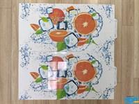 Панель декоративная ПЛАСТМАРКЕТ Апельсин каф.плитка 485*960 ПВХ