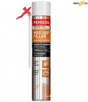 Пена PENOSIL монтажная Max Gap Filler Foam Sealant 750мл