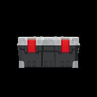 Ящик для инструментов TITAN PLUS серый KTIP5025-4C