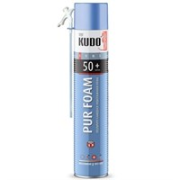Пена KUDO полиуретановая монтажная бытовая всесезонная HOME 50+