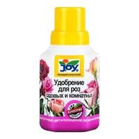 Удобрение жидкое JOY для садовых и комнатных роз 0,25л