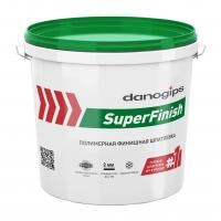 Шпатлевка DANOGIPS SuperFinish 5кг(3л)