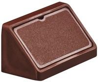 Крепление-уголок HAFELE пластмасса темно- коричневый ширина 44мм 262.55.112