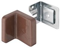Навеска HAFELE для шкафа угловая с заглушкой коричневая 290.34.100