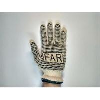Перчатки Far х/б с пупырышками