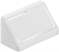Уголок крепежный HAFELE пластмасса двойной белый 262.55.710