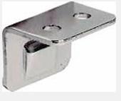 Угольник запорный HAFELE никелированный, сталь 251.74.707