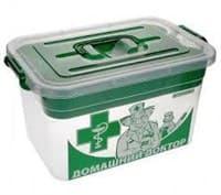 Контейнер для аптечки Домашний доктор 10л 81003