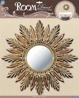 Элемент декоративный ROOM DECOR Декор зеркало большое №1 золото PSA 4902