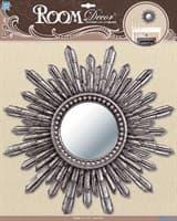 Элемент декоративный ROOM DECOR Декор зеркало большое №4 серебро PSA 4908