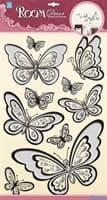 Элемент декоративный ROOM DECOR Бабочки галограмма POA 6806