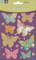Элемент декоративный ROOM DECOR бабочки цветные мини PSA 0103