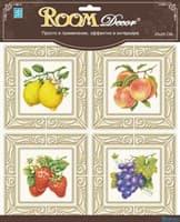 Элемент декоративный ROOM DECOR Декор Фрукты №2 3D TLA 0702