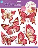 Элемент декоративный ROOM DECOR Золотые бабочки CBA 3120