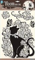Элемент декоративный ROOM DECOR Кошечка в цветах POA 5855
